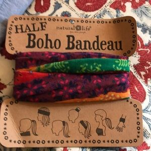 New Natural Life Half Boho Bandeau